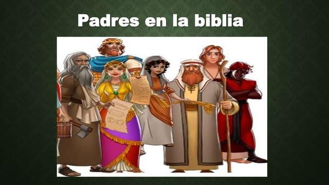 Padres en la biblia