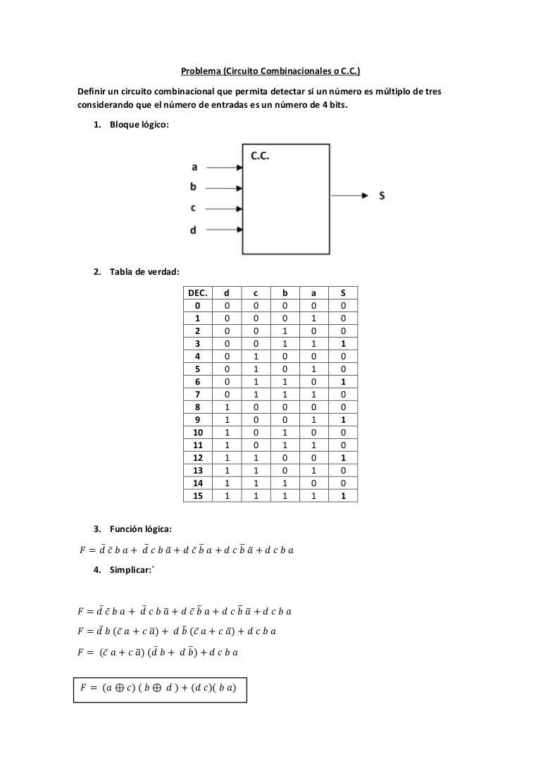Circuito Logico : Circuito logico