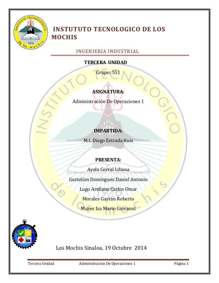 Ejercicios administracion-de-las-operaciones 5703dde3418b
