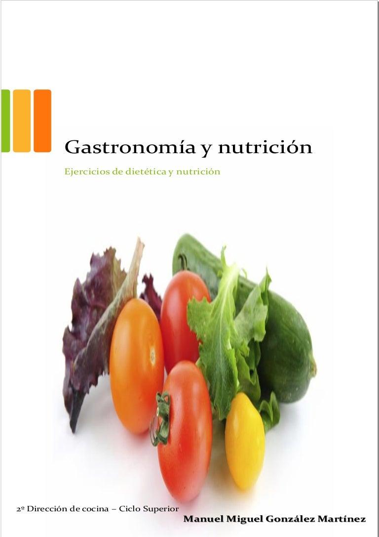 ejercicios de nutricion y dietetica