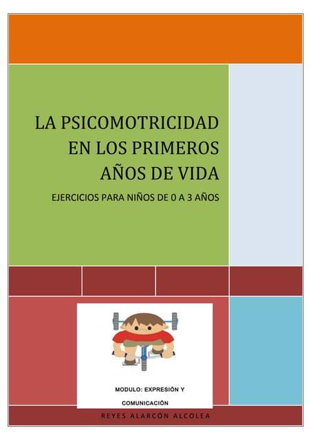 Ejercicios psicomotricidad primer ciclo