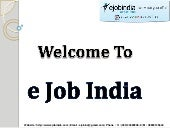 Ejob India - Kolkata's Best Software Training Institute
