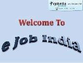 Ejob India - Best Php Training Center in Kolkata