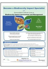 Ekonnect-BNHS Course on 'Biodiversity Impact Assessment and Management'