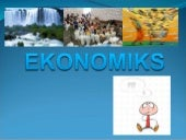 Ekonomiks