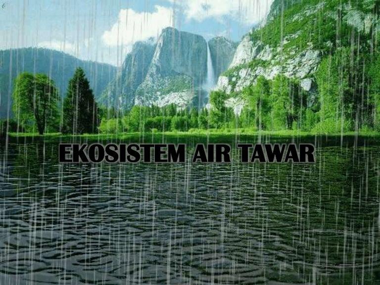 Ekosistem Air Tawarppt