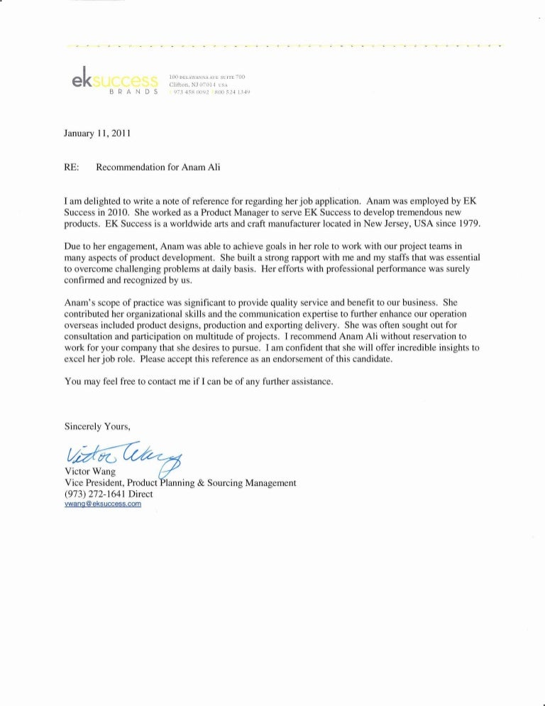 job recommendation letter templates 15 sample examples