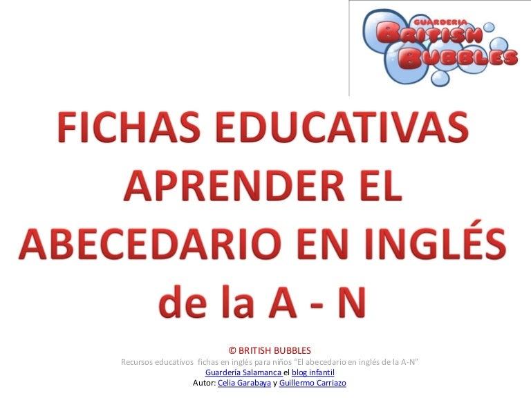 El Abecedario En Ingles 1