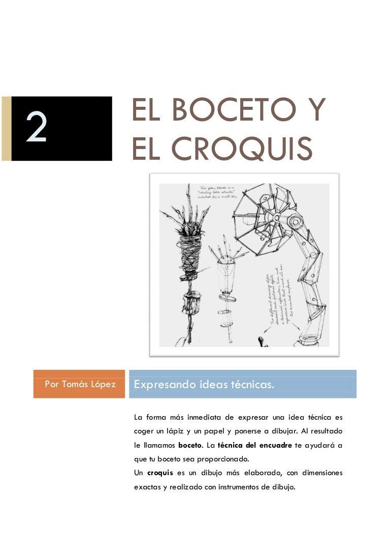 El boceto-y-el-croquis