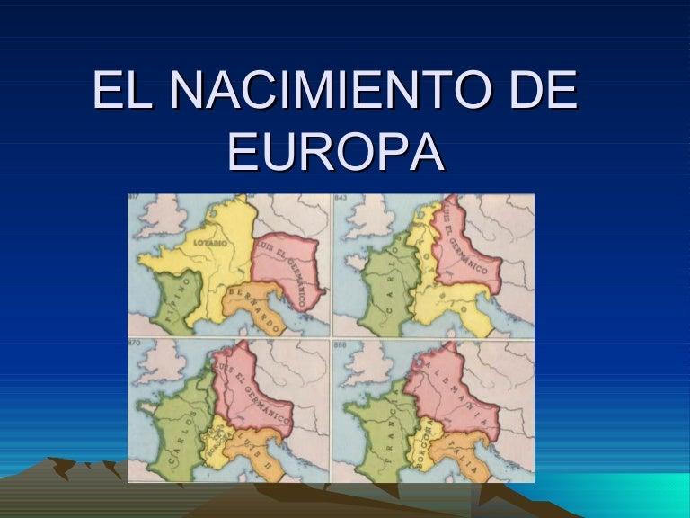 Resultado de imagen de nacimiento de europa