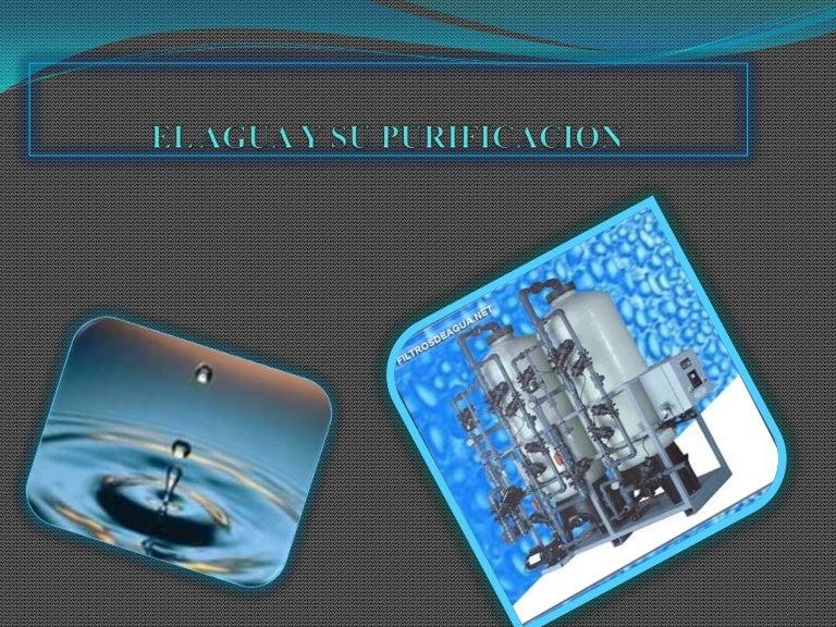 metodos de purificacion del agua en el laboratorio