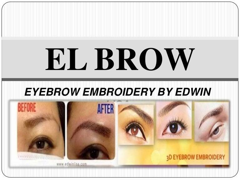 El Brow Presentation Eyebrow Embroidery Philippines