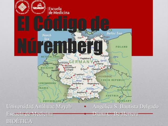 El código de núremberg