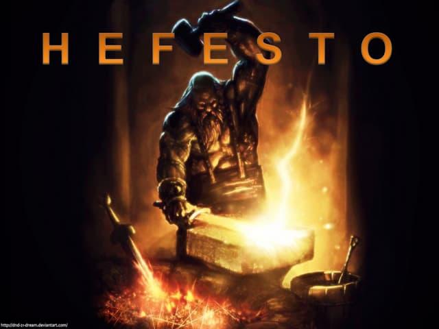El dios Hefesto