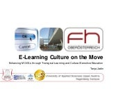 E-Learning Culture on the Move.