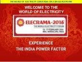 ELECTRIFYING EXPERIENCE IN ELECRAMA 2016