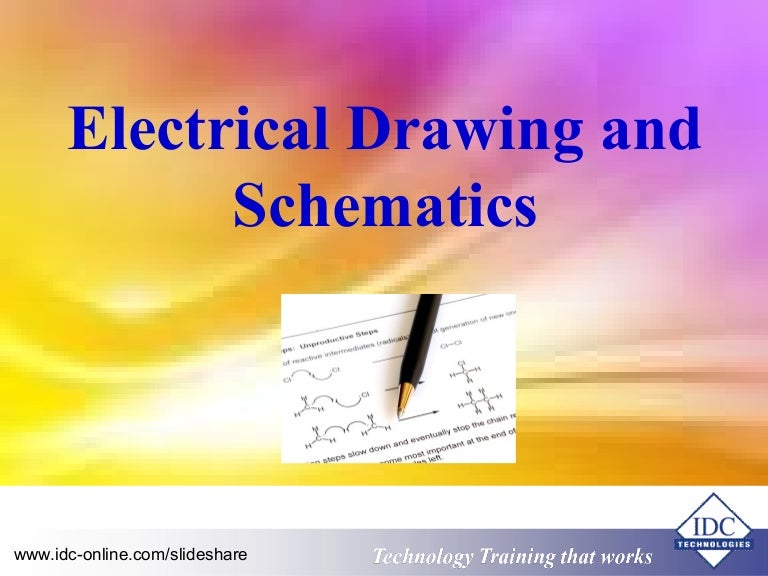 electrical drawings and schematics,