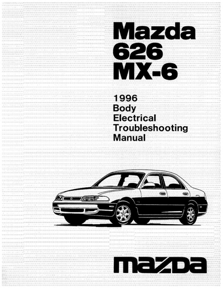 Electrical manual 626_mx6_96