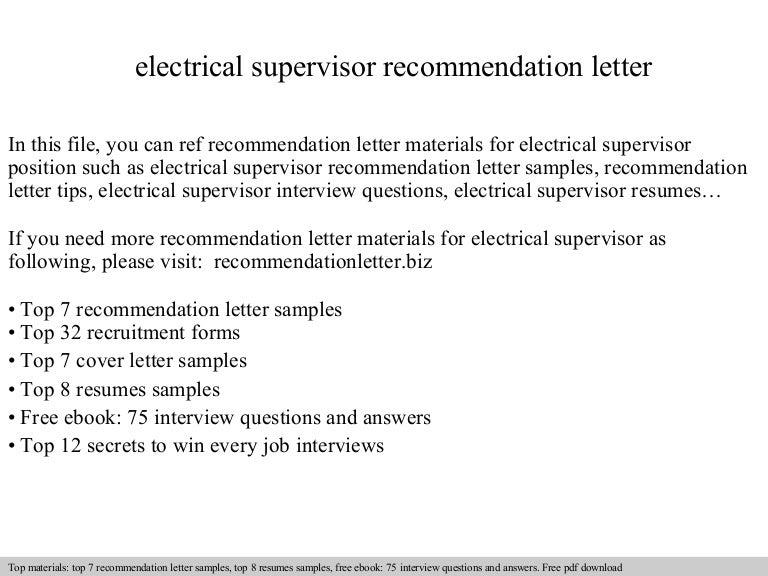 Electricalsupervisorrecommendationletter 140826195535 Phpapp01 Thumbnail 4?cbu003d1409082958