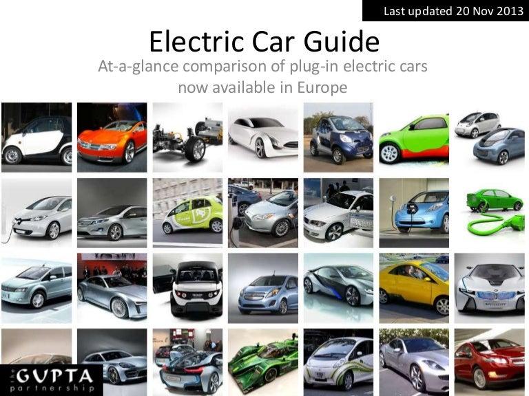 Auto specification comparison