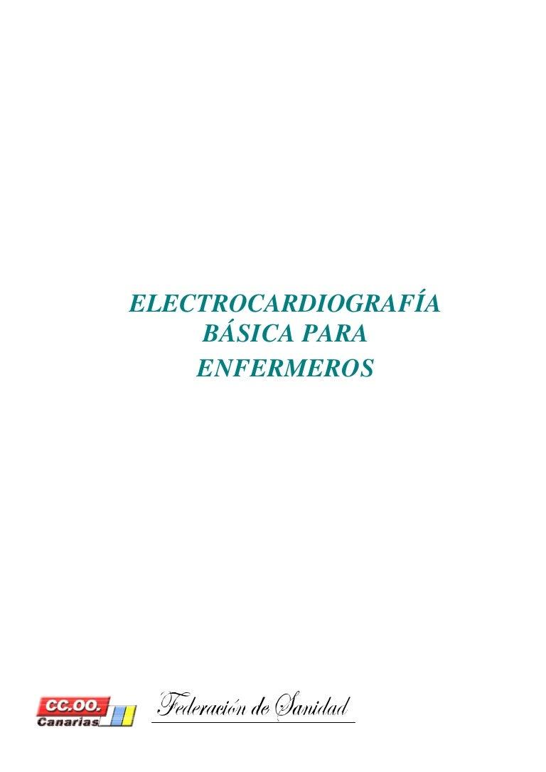Electrocardiografia basica enfermeros