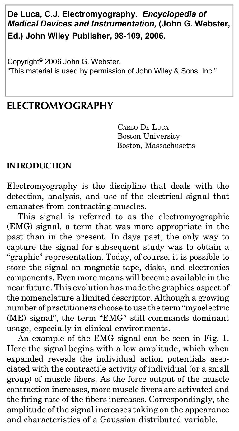 Electromyography Figure 1 Block Diagram Of Capacitively Coupled Emg Electrode Electromyography20medical20encyclopedia 111109141815 Phpapp02 Thumbnail 4cb1320848331
