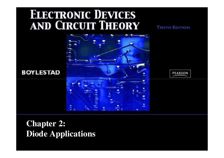 Electronic devices and circuit theory 11th ed.