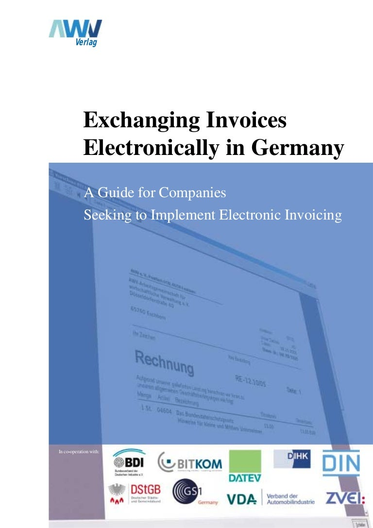 Invoice Of Car Word Electronic Invoices In Germany Awv  How To Add A Read Receipt In Gmail with Free Template For Invoice  Fake Gas Receipt Excel