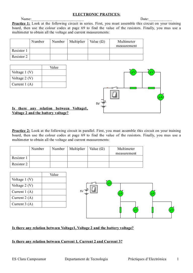 Electronic Practices Series Parallel Circuit Examples How To Use A Multimeter Electronicpractices 131003153046 Phpapp01 Thumbnail 4cb1380814266