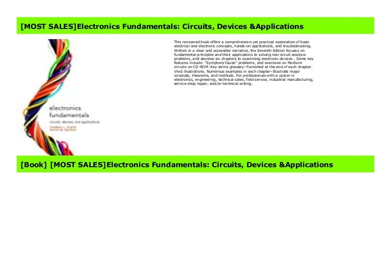 MOST READElectronics Fundamentals: Circuits, Devices ...