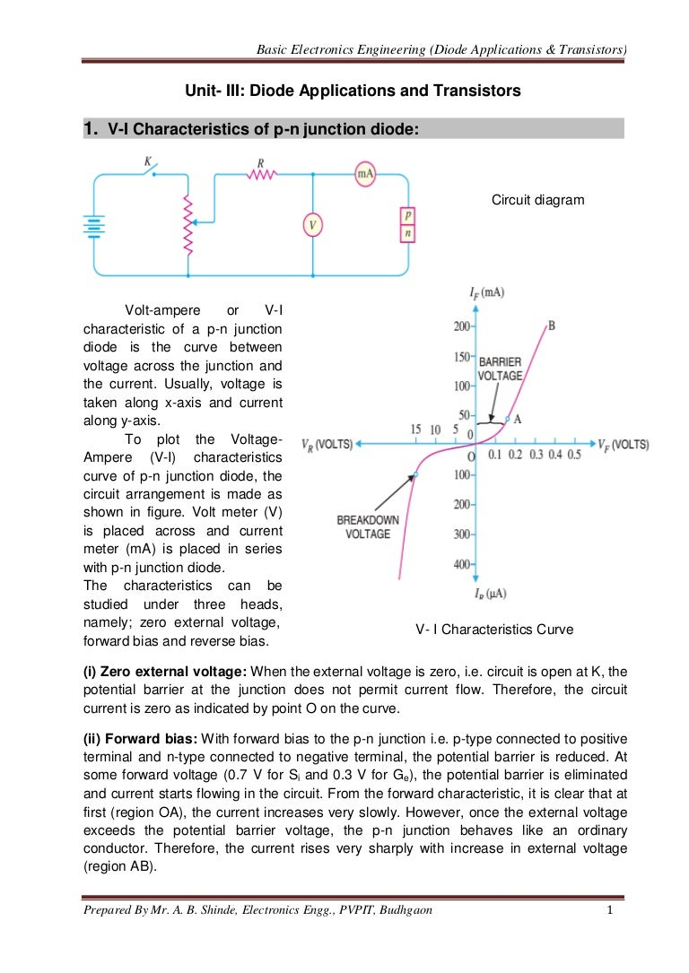 Diode Applications Transistor Basics Diodes In Circuits