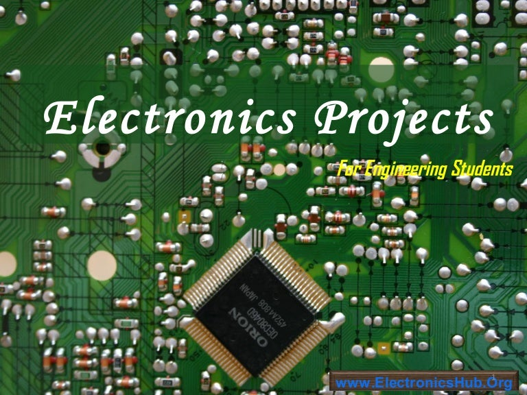 Electronics Projects List for Engineering Students