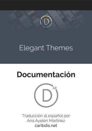 Elegant themes divi wordpress