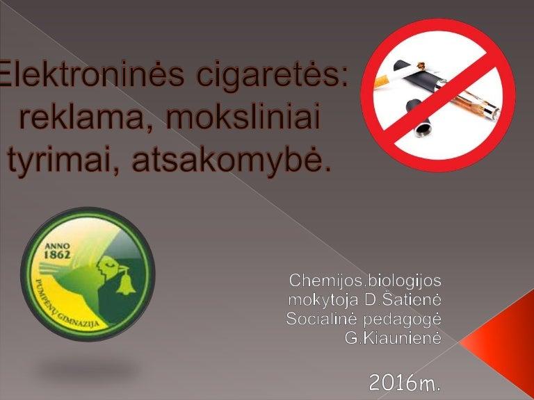A. Veryga: elektroninės cigaretės – būdas apgauti | topfilmai.lt