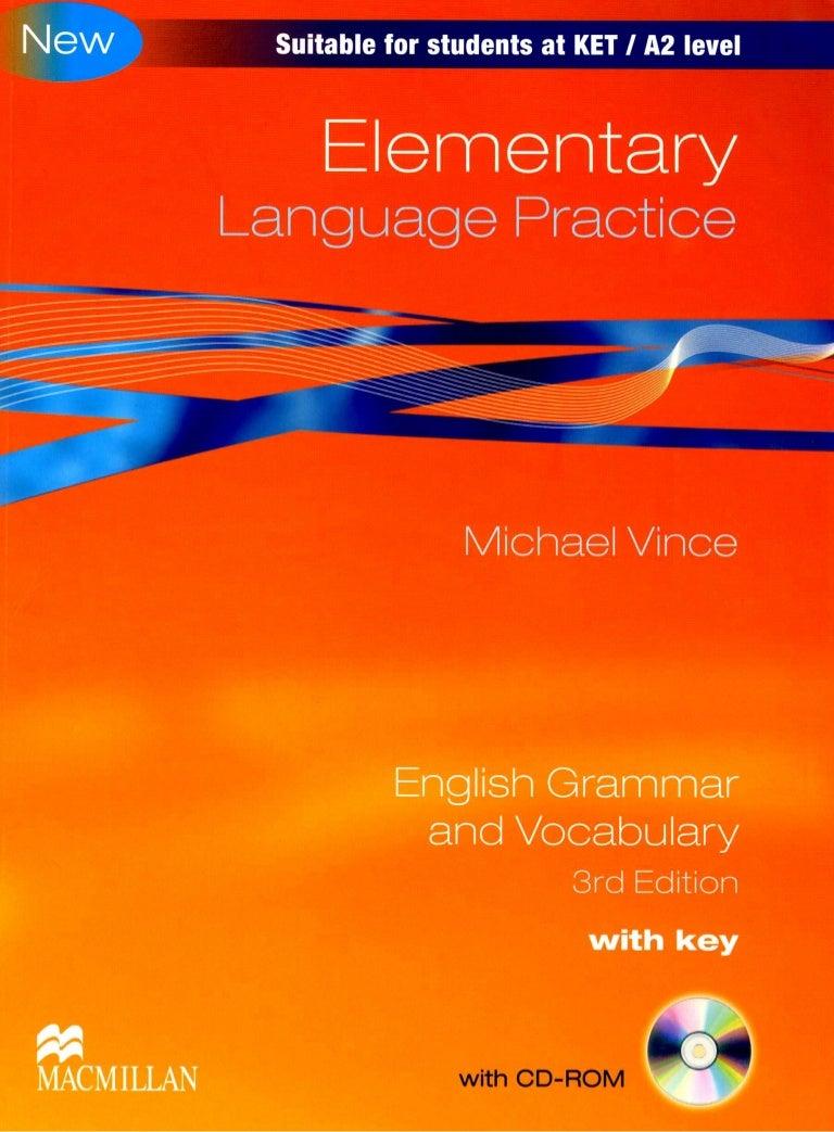 advanced language practice michael vince free download
