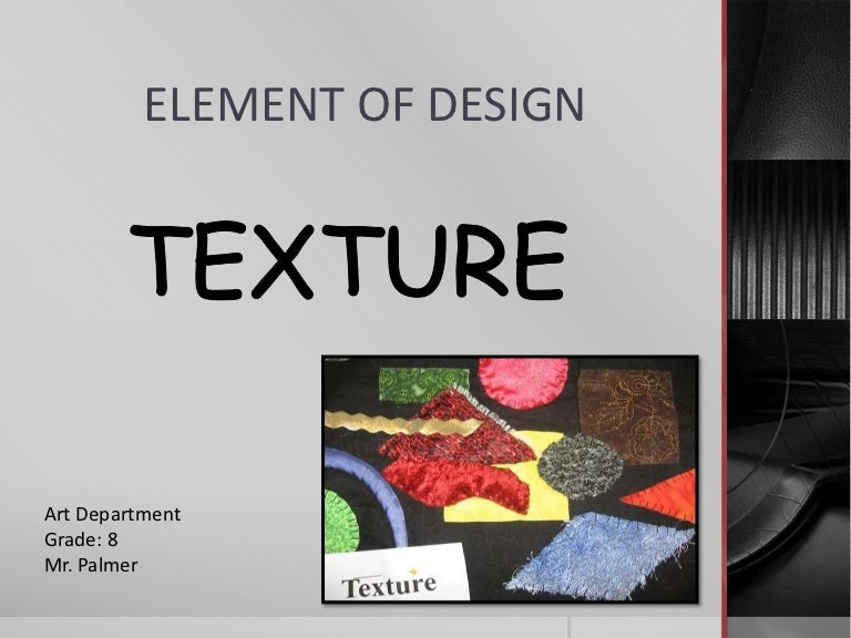 Element Of Design Texture,Aashto Roadside Design Guide Clear Zone