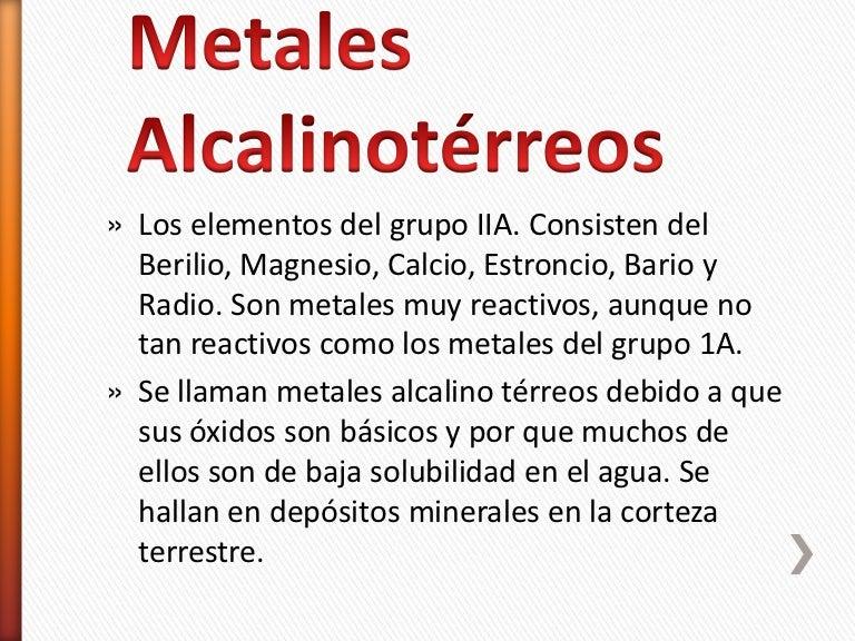 Metales alcalinoterreos y terreos urtaz Image collections