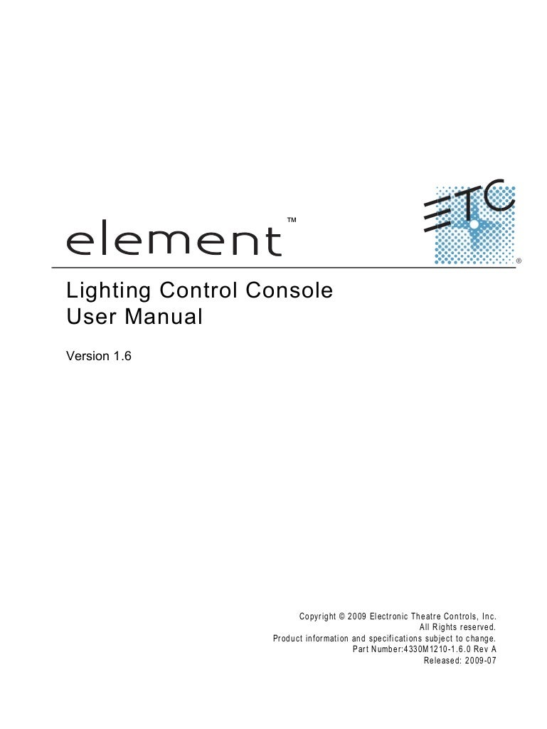 element v1 6 user manual rev a rh slideshare net etc element user manual tangent element user manual