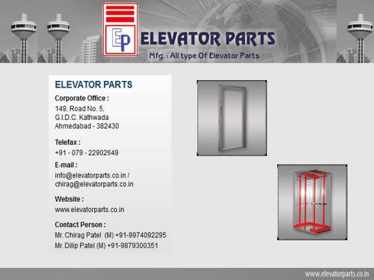 Lift Spare Parts Manufacturers