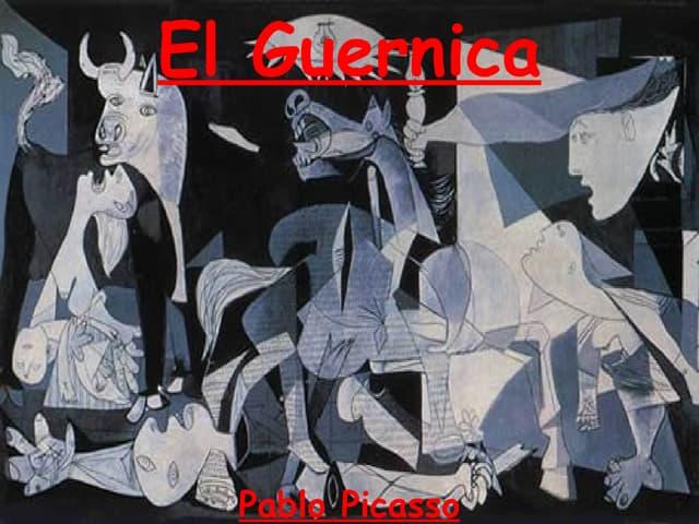 El Guernica  Pablo Picasso