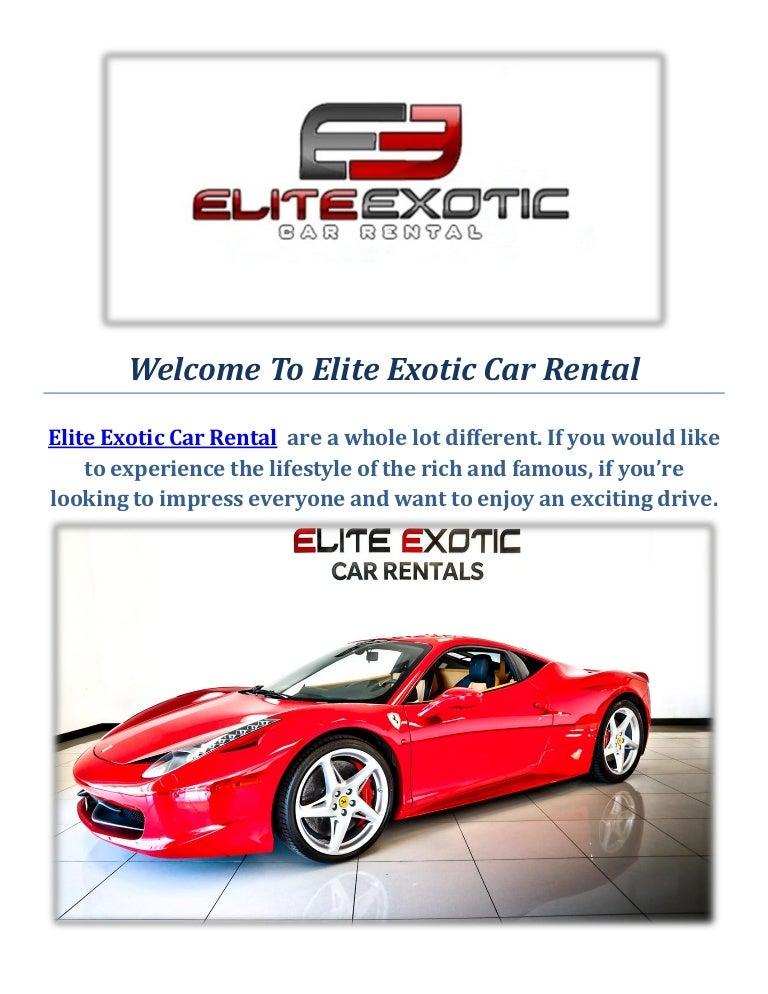 Exotic Car Rental Las Vegas >> Elite Exotic Car Rental Luxury Car In Las Vegas