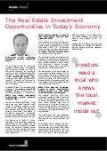 The Real Estate Investment Opportunities in Today's Economy-Gregory Winssinger, ImmoFinRE Group