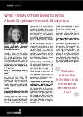 What Family Offices Need to Know About Cryptocurrencies & Blockchain-Dr Catherine Mulligan