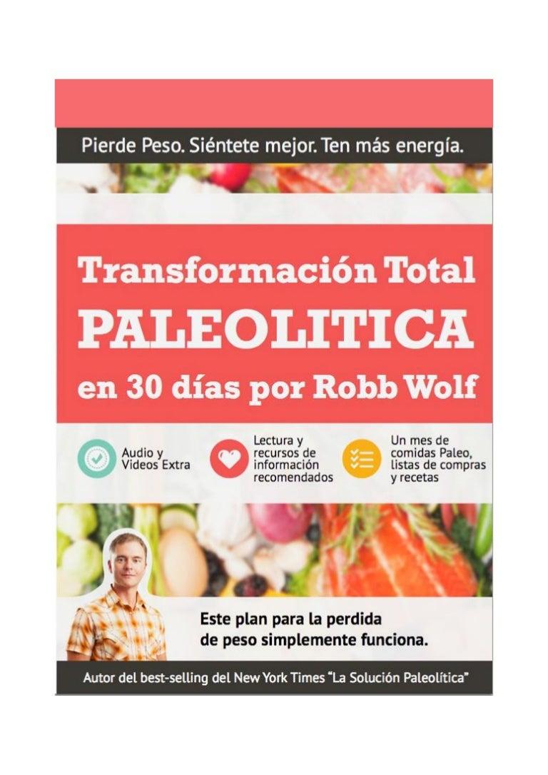 la dieta paleolitica pdf descargar