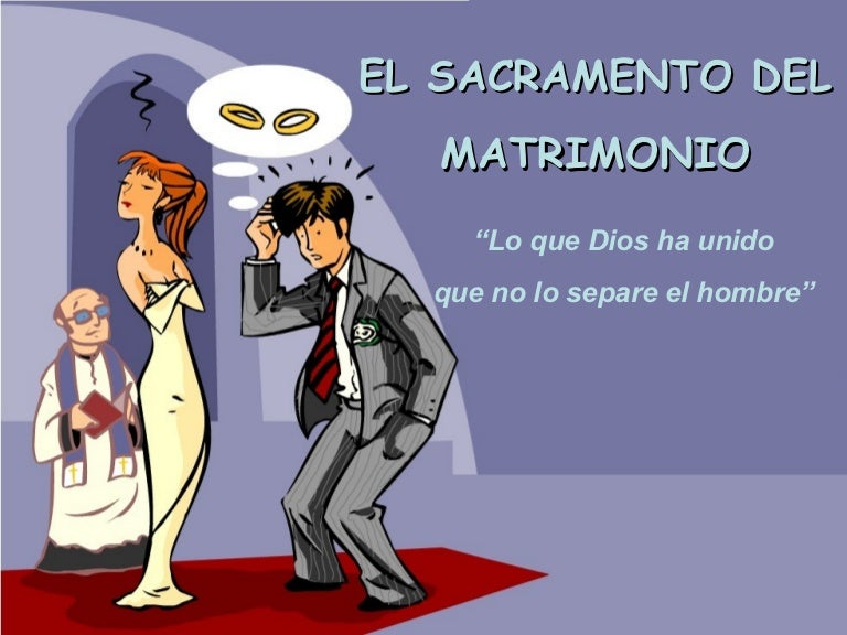 Significado De Matrimonio Catolico : El matrimonio