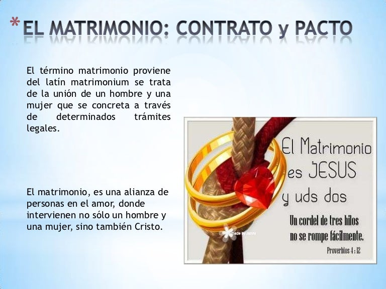 Matrimonio No Catolico : El matrimonio power point