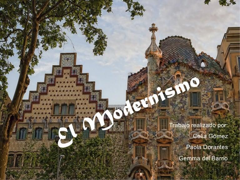 El modernismo (1)