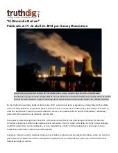 El Omnicidio Nuclear por Harvey Wasserman - Blog Thruthdig