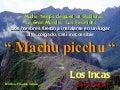 El origen de machu picchu