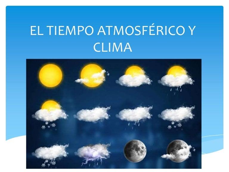 el tiempo atmosf u00e9rico